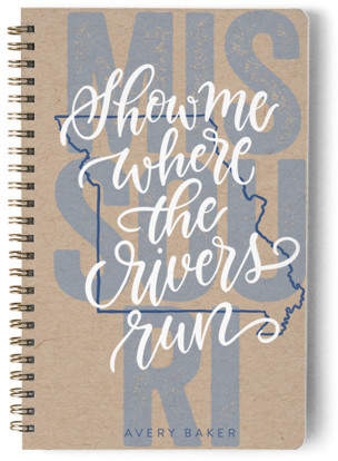 Missouri Living Day Planner, Notebook, or Address Book