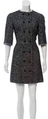 Dolce & Gabbana Tweed Sheath Dress