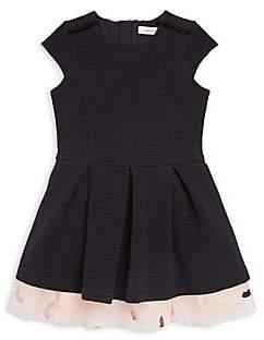 Catimini Little Girl's & Girl's Short Sleeve Tutu Dress