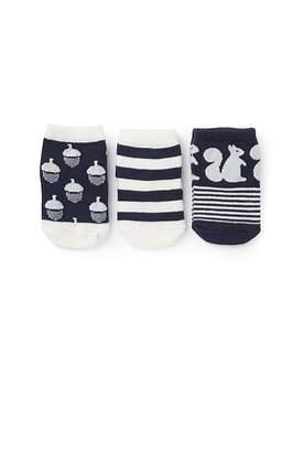 Country Road Newborn Socks Pack of 3