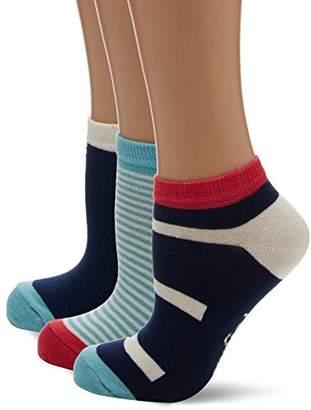 Original Penguin Women's Lshpe676 Socks,(Manufacturer Size: 4 to 8) pack of 3