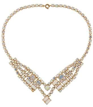 Susan Caplan Vintage 1950s Vintage Crystal Necklace