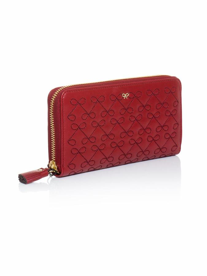 Anya Hindmarch Wilkes leather continental wallet