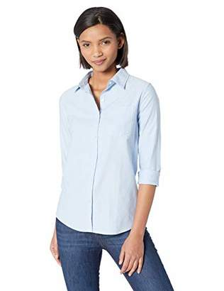 Amazon Essentials Women's Long-Sleeve Classic-Fit Solid Oxford Shirt