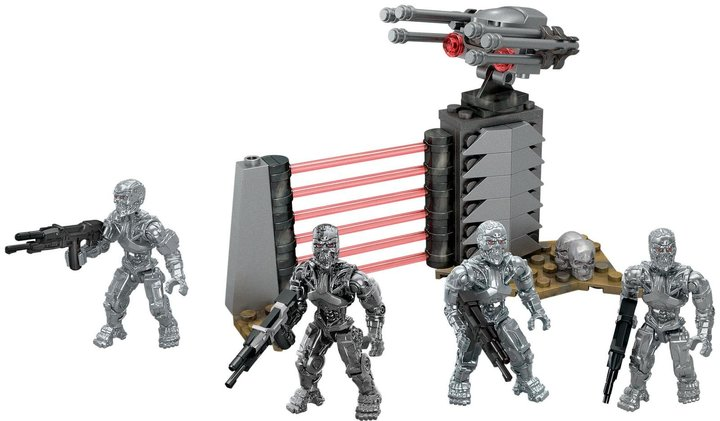 Mega Bloks Terminator Genisys Machines Troop Pack