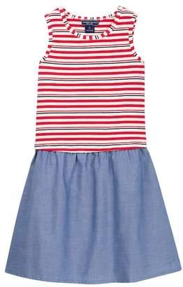 Toobydoo Paislee Striped Top Dress (Toddler, Little Girls, & Big Girls)