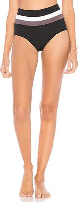 L-Space Portia Stripe Bikini Bottom