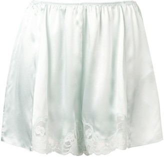 Stella McCartney lace trim shorts