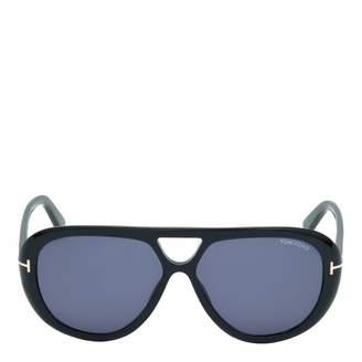 e0ae2a8eff9 Men s Marley Black Grey Blue Sunglasses 59mm