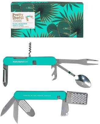 Oliver Bonas Pretty Useful Tools 12 in 1 Kitchen Multi Tool