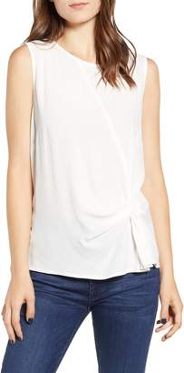 Chelsea28 Sleeveless Side Twist Top