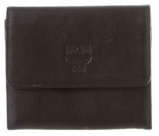 MCM Leather Coin Pouch