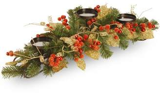 "National Tree 30"" Berry/Leaf Vine Candleholder"