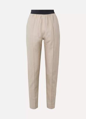 Albus Lumen - Linen Straight-leg Pants - Neutral