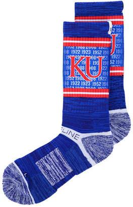 Strideline Kansas Jayhawks Crew Socks Ii