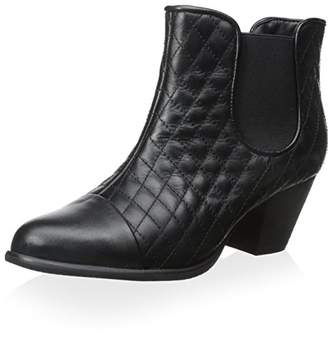 Sixth + Love Women's Quilted Ankle Bootie