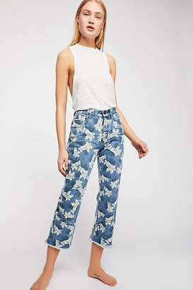 One Teaspoon Oneteaspoon OneTeaspoon Low Rise Kick Flare Jeans