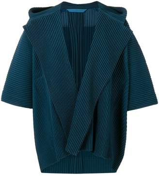 Issey Miyake Homme Plissé pleated kimono jacket