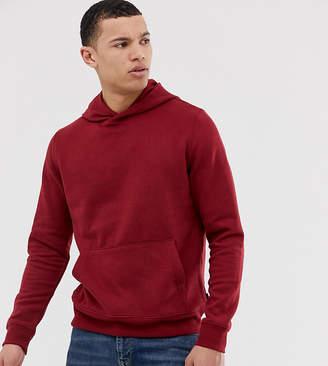 4b75c57001 Burton Menswear Big   Tall hoodie in red marl