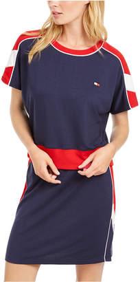 Tommy Hilfiger Dolman-Sleeve Cropped Sweatshirt
