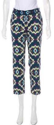 Manoush Printed Mid-Rise Pants
