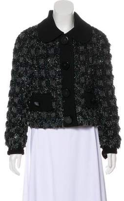 Marc Jacobs Metallic Tweed Jacket