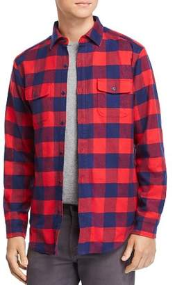 Vineyard Vines Deepwood Buffalo-Check Shirt Jacket