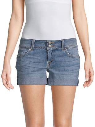 Hudson Women's Mid-Thigh Denim Shorts