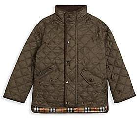 Burberry Little Kid's & Kid's Quilted Jacket