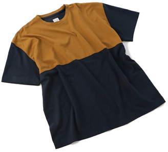 Men's Bigi (メンズ ビギ) - ADITIONAL ダブルカラーTシャツ メンズ ビギ カットソー