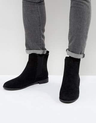 Brave Soul Chelsea Boots In Black
