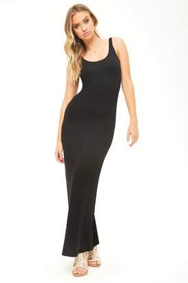 Forever 21 Sleeveless Scoop Maxi Dress
