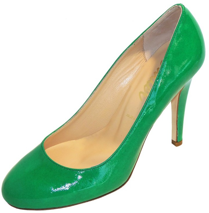 Butter Shoes Click in Kelly Patent