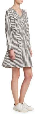Theory Stripe Shirt Dress