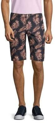 Shore Leave Floral Cotton Shorts