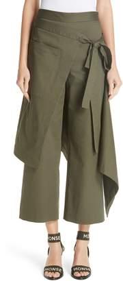 Monse Cotton Twill Apron Pants