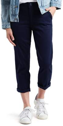 Levi's Levis Women's Classic High-Waisted Chino Crop Pants