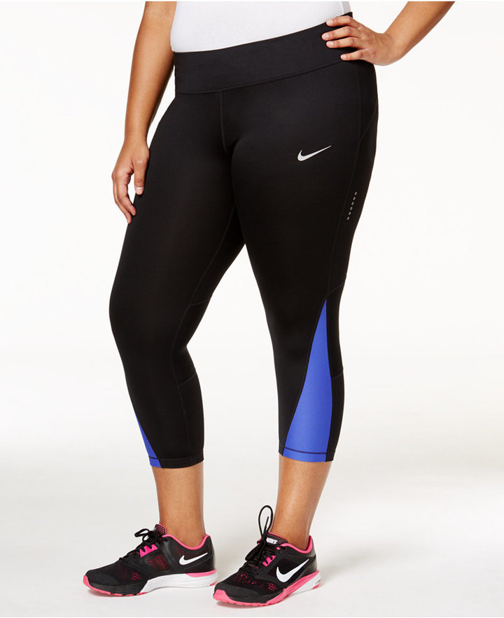Nike Plus Size Power Compression Cropped Leggings