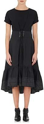 3.1 Phillip Lim Women's Cinched-Waist Cotton Dress