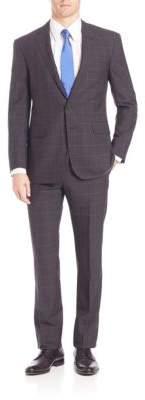 Polo Ralph LaurenPurple Label Classic-Fit Windowpane Plaid Suit