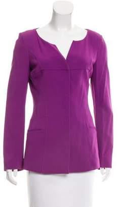 Alberta Ferretti Knit Long Sleeve Jacket