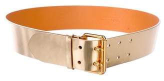 Ralph Lauren Metallic Buckle Belt