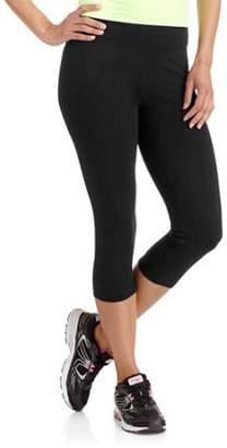 Danskin Women's Cotton Spandex Capri Active Fitness Leggings