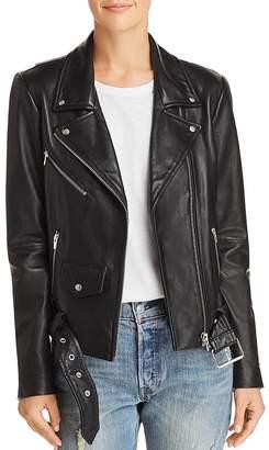 Veda Jayne Leather Moto Jacket