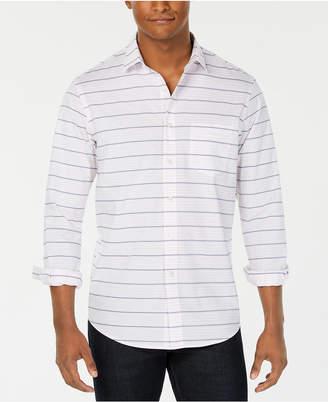 Club Room Men Horizontal Stripe Shirt