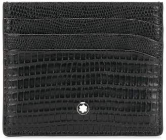 Montblanc textured pocket card holder