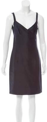 Ralph Lauren Black Label Sleeveless Silk Dress