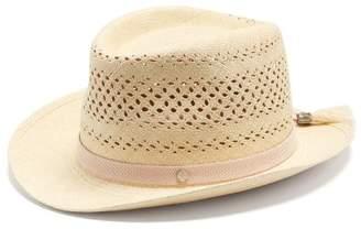 Maison Michel Lydia Straw Hat - Womens - Beige