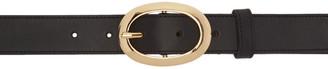 A.P.C. Black Chloe Belt $165 thestylecure.com