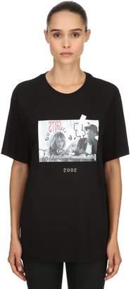 2002 Printed Cotton Jersey T-Shirt